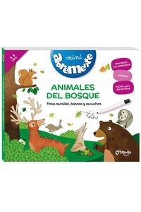 ANIMALES DEL BOSQUE. MINI ABREMENTE